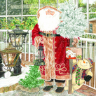 Father Christmas at the Garden Centre